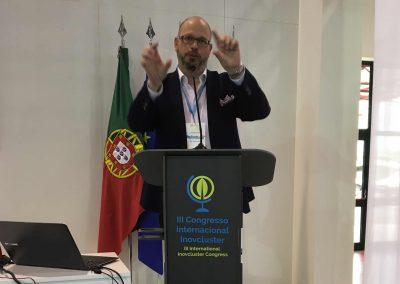 Erik Leonavicius als Gastredner auf der I9agri in Castello Branco, Portugal - Referenz - Innovation - REINVENTIS - Innovationsberatung - München