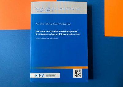 Gründungslehre / Entrepreneurship - Buch - Referenz - Innovation - REINVENTIS - Innovationsberatung - München