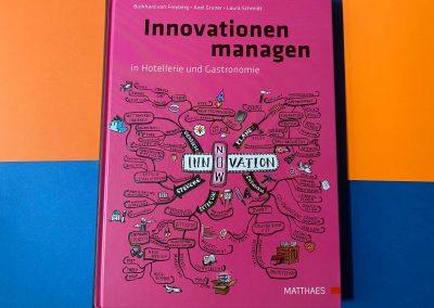 Innovation managen in Hotellerie und Gastronomie - Buch - Referenz - Innovation - REINVENTIS - Innovationsberatung - München