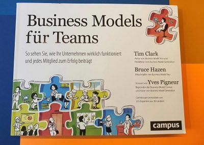 Business Models für Teams - Buch - Referenz - Innovation - REINVENTIS - Innovationsberatung - München